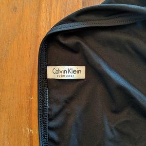 Calvin Klein Swim - Calvin Klein Black Swimsuit Bottom Logo Size L EUC